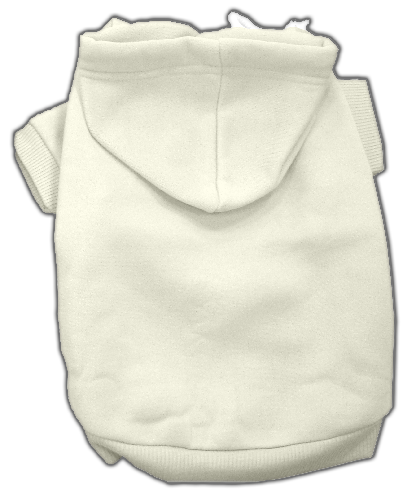 Blank Pet Hoodies Cream XXXL
