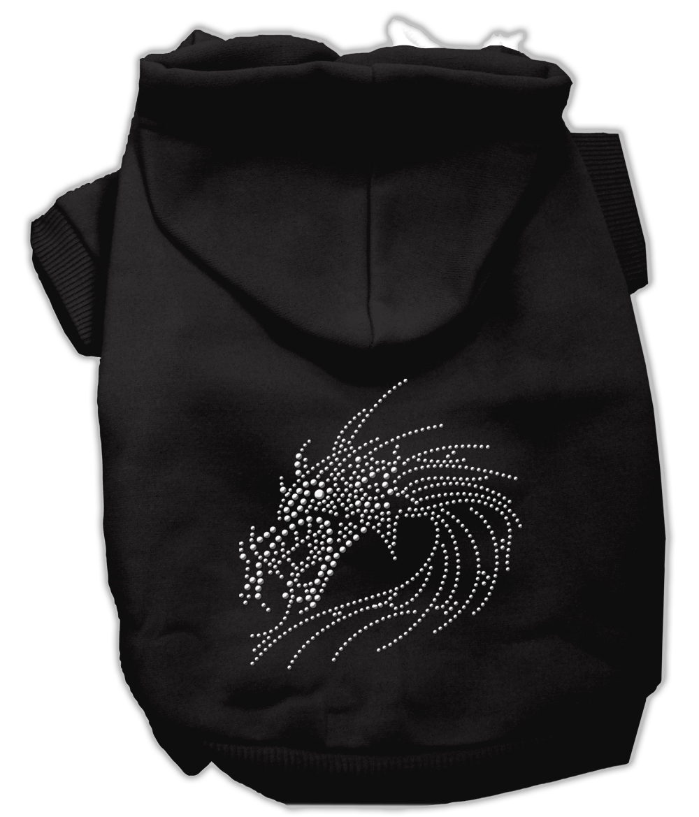 Studded dragon hoodies black xxl 18 for Xxl 18 xxl 2012 black