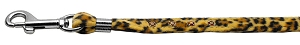 Animal Print Step In Harness Leopard Matching Leash