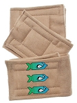 Peter Pads Tan Size XS Bombs Away 3 Pack