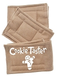 Peter Pads Tan Size XS Cookie Taster Screen Print 3 Pack