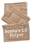 Peter Pads Tan Size XS Santas Lil Helper Screen Print 3 Pack