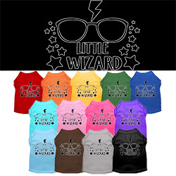 Little Wizard Screen Print Dog Shirt