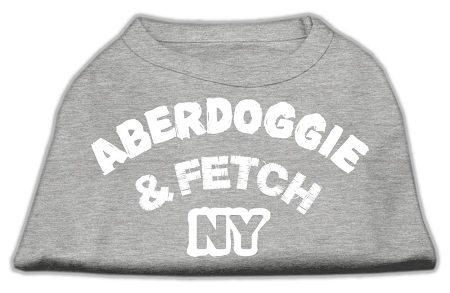 Aberdoggie NY Screenprint Shirts Grey Sm