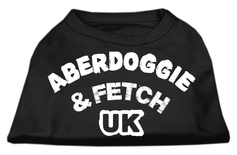 Aberdoggie UK Screenprint Shirts Black Sm
