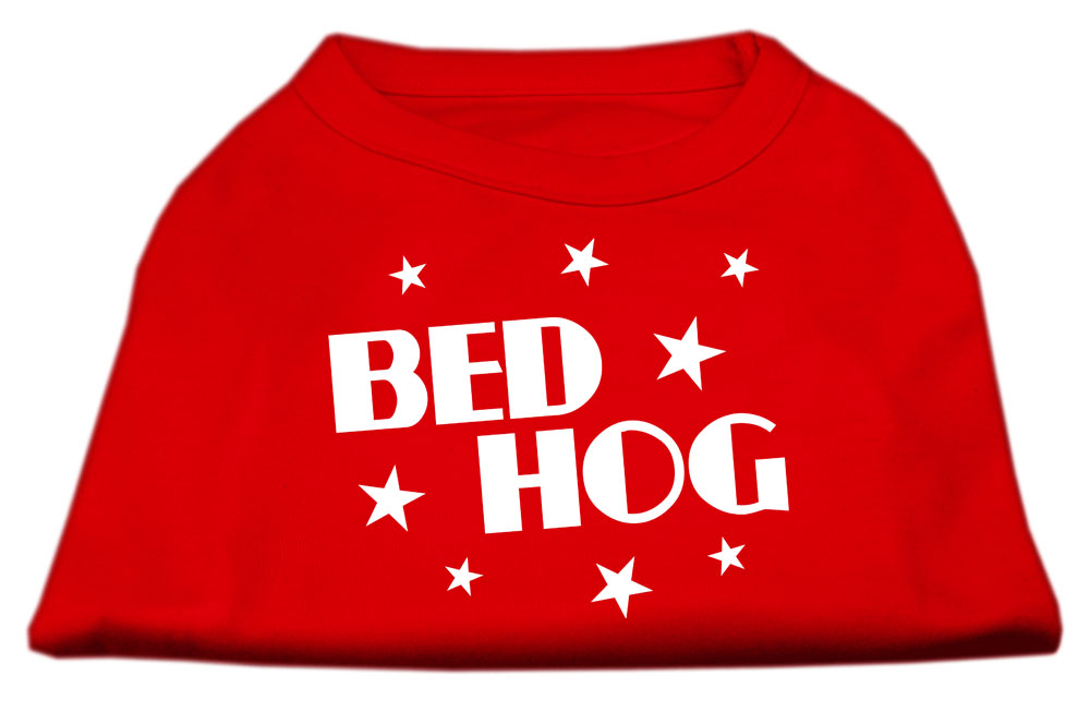 Bed Hog Screen Printed Shirt Red Sm