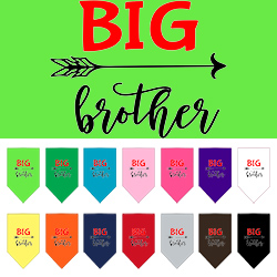 Big Brother Screen Print Bandana