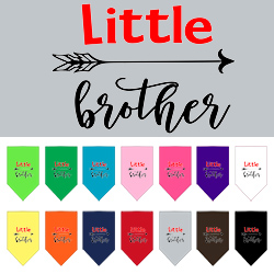 Little Brother Screen Print Bandana