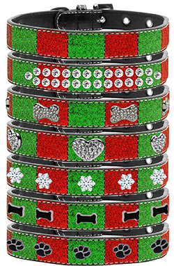 Christmas Ice Cream Collars