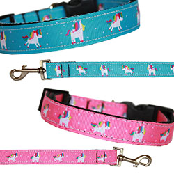 Unicorn Nylon Dog Collars