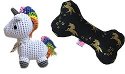 Unicorn Dog Toys