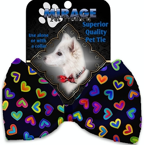 Bright Hearts Pet Bow Tie Collar Accessory with Velcro