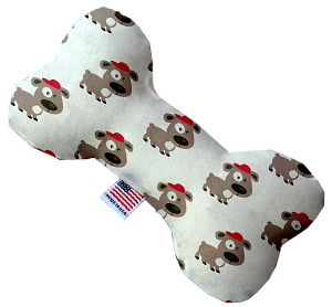 Fresh Pup 6 inch Stuffing Free Bone Dog Toy