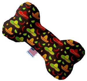 Sombreros 6 inch Stuffing Free Bone Dog Toy