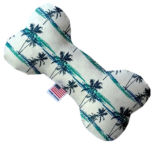 Palm Tree Paradise 6 inch Stuffing Free Bone Dog Toy