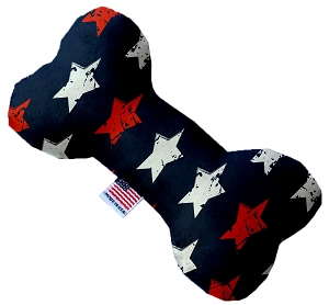 Graffiti Stars 6 inch Stuffing Free Bone Dog Toy