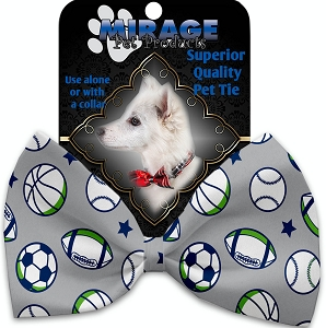 Sports and Stars Pet Bow Tie
