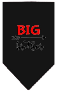 Big Brother Screen Print Bandana Black Small