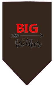 Big Brother Screen Print Bandana Cocoa Large