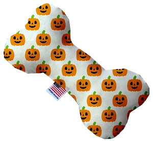 Happy Pumpkins 8 inch Stuffing Free Bone Dog Toy