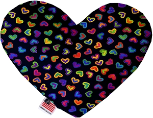 Bright Hearts 8 inch Heart Dog Toy