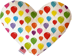 Balloons 6 inch Stuffing Free Heart Dog Toy