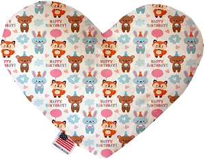 Birthday Buddies 8 inch Heart Dog Toy