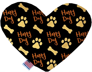 Happy Dog 6 inch Stuffing Free Heart Dog Toy