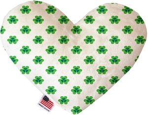 Lucky Charms 8 inch Heart Dog Toy