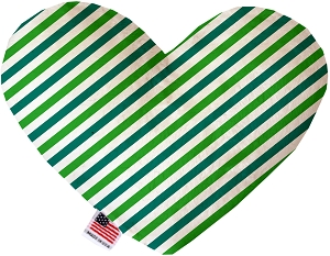 Lucky Stripes 8 inch Heart Dog Toy