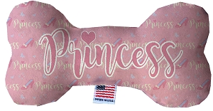 Princess 8 inch Fluffy Bone Dog Toy