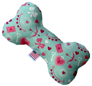 Cupid's Love 6 inch Stuffing Free Bone Dog Toy