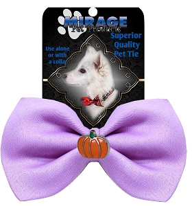 Pumpkin Widget Pet Bowtie Lavender