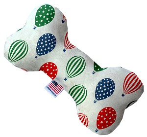 Hot Air Balloons 8 Inch Bone Dog Toy