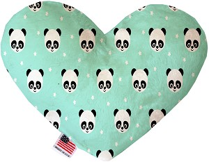 Happy Pandas 8 Inch Heart Dog Toy