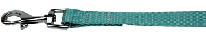 Plain Nylon Pet Leash 1in by 6ft Ocean Blue