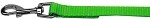 Plain Nylon Pet Leash 3/8in by 4ft Hot Lime Green