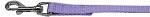 Plain Nylon Pet Leash 3/8in by 4ft Lavender