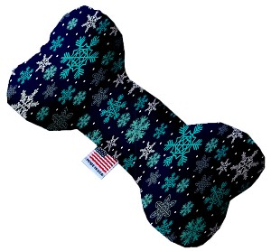 Snowflake Blues 10 Inch Bone Dog Toy
