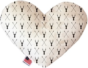 Deer Dreaming 6 Inch Heart Dog Toy
