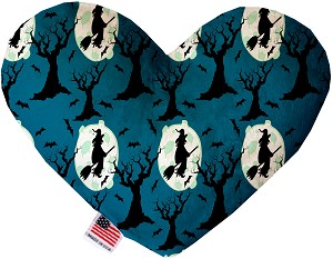 Salem Witches 8 Inch Heart Dog Toy