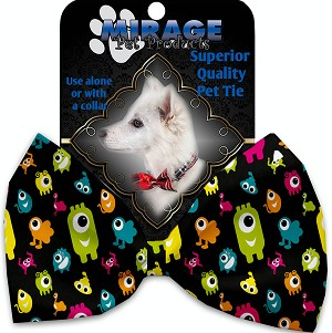 Monster Zoo Pet Bow Tie Collar Accessory with Velcro