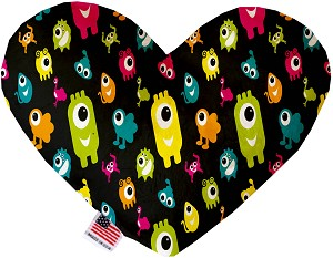 Monster Zoo 6 Inch Heart Dog Toy