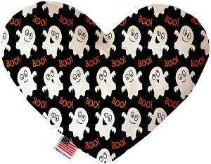 Little Boo Who 8 Inch Heart Dog Toy
