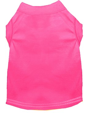 Plain Shirts Bright Pink Med