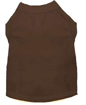 Plain Shirts Brown Lg (14)