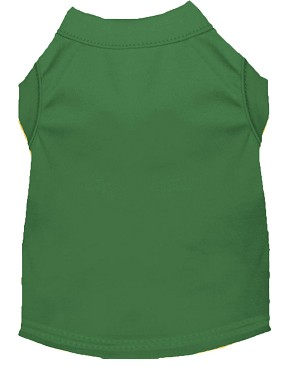 Plain Shirts Emerald Green Lg