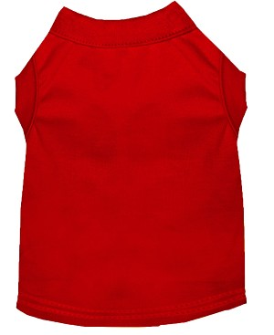 Plain Shirts Red Med (12)