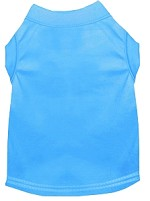 Plain Pet Shirts Bermuda Blue XS