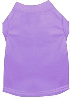 Plain Pet Shirts Lavender XS